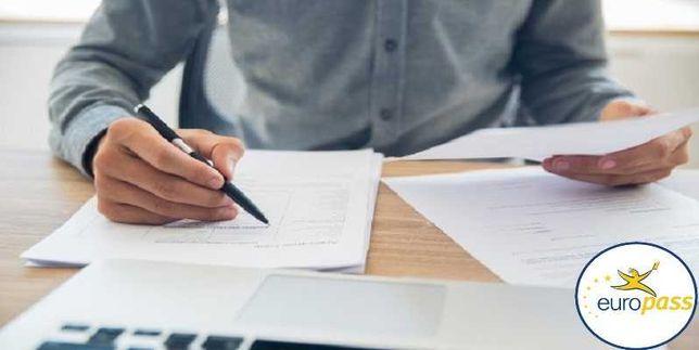 E Realizare CV redactare CV modificare CV EUROPASS, SCRISOARE INTENȚIE