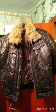 Куртка муж теплая