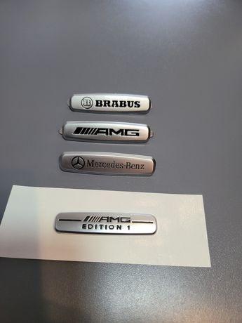 Емблема за седалки на Мерцедес Mercedes AMG Brabus