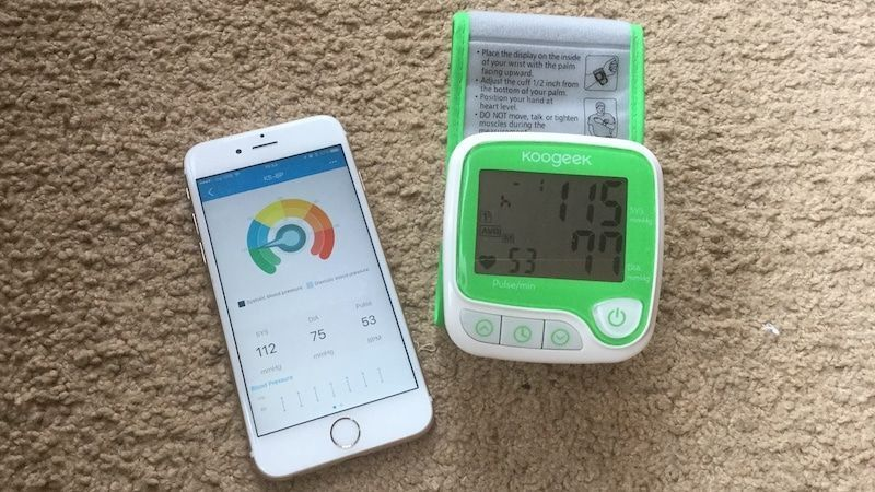 Tensiometru Koogeek Bluetooth Digital Apple si Android, nou