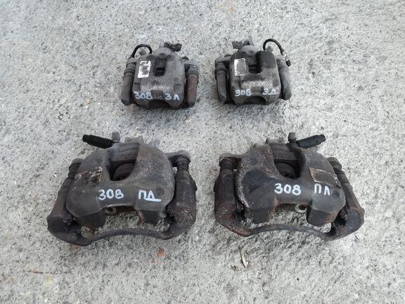 Пежо 308 спирачни апарати (спирачен апарат, супорт, супорти)