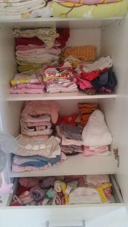 Лот бебешки дрешки и принадлежности 0-3, 3-6, 6-9, 9-12 месеца
