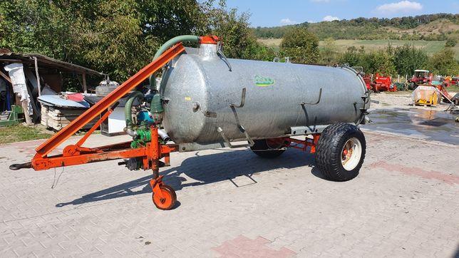 Vidanjor Asco 3100 litri galvanizat