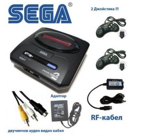 16 бита SEGA MEGA DRIVE 2 е 16 битова телевизионна игра Sega Mega Dri