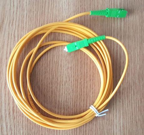 Cablu fibră optică cu conectori 3 metri
