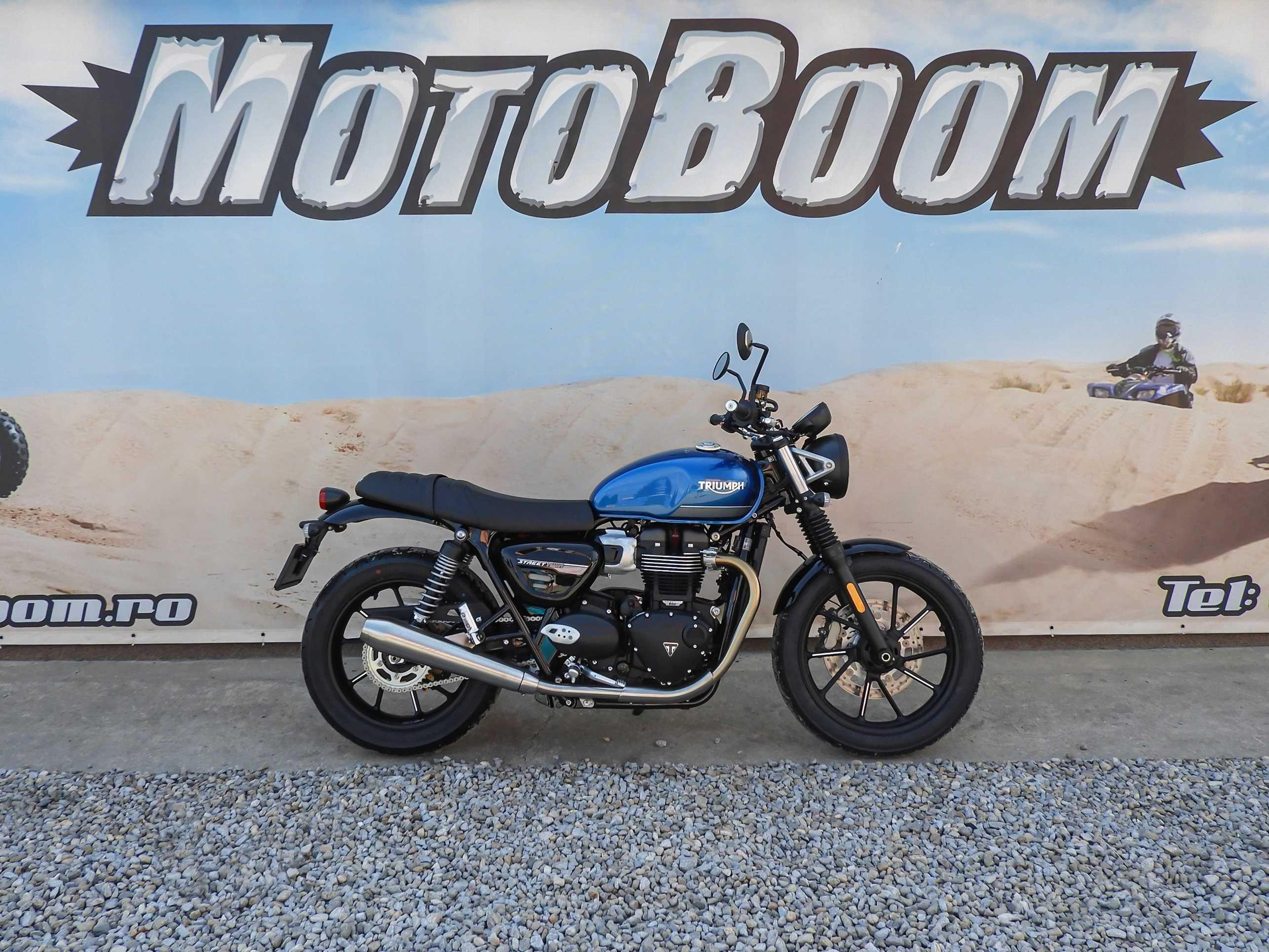 Motocicleta Triumph Street Twin 2021