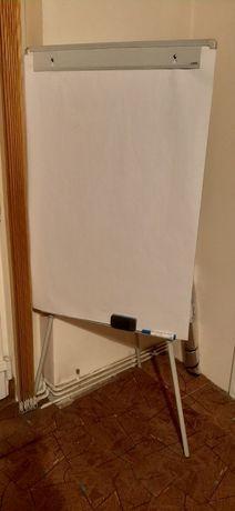 Flipchart 70x100cm, cu trepied reglabil pe înălțime
