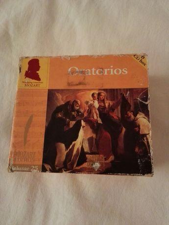 Mozart-oratorios 6 CD box