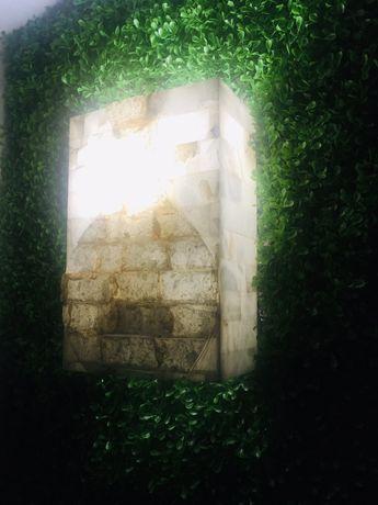 Лампа стенна от естествен мрамор