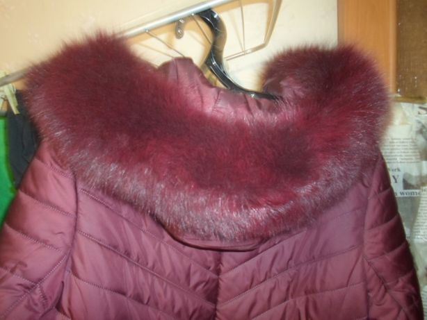 Куртка жен-зима р 50-52,нов,опушка натур.