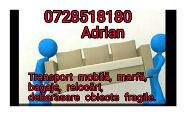 Debarasare mobilă veche, transport mobilă, bagaje, electrocasnice!