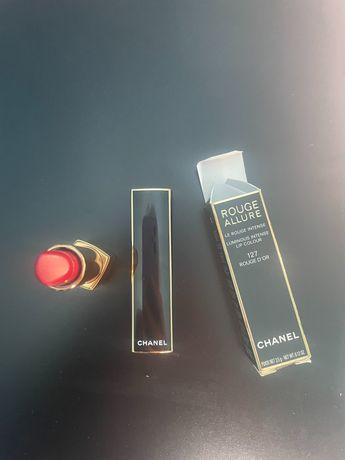 Интензивно дълготрайно червило Chanel Rouge Allure - 127 Rouge D'Or