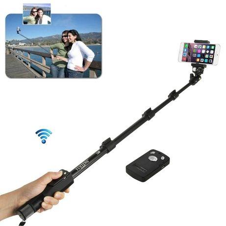 Monopied Vunteng 42-125cm selfie stick telecomanda bluetooth telefon