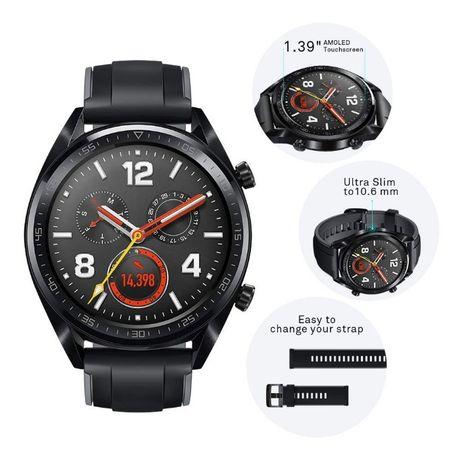 """Спортен Смарт Часовник Huawei GT Sport GPS 1.39"""" Дисплей Нов"""