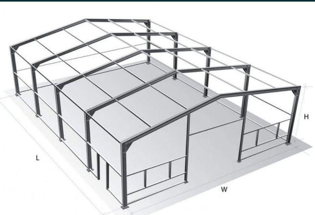 Vand hale metalice 7 x 16