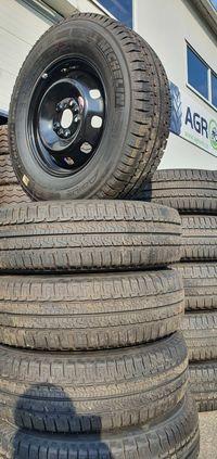 225/75R15C cauciucuri noi montate de la Michelin cu jante