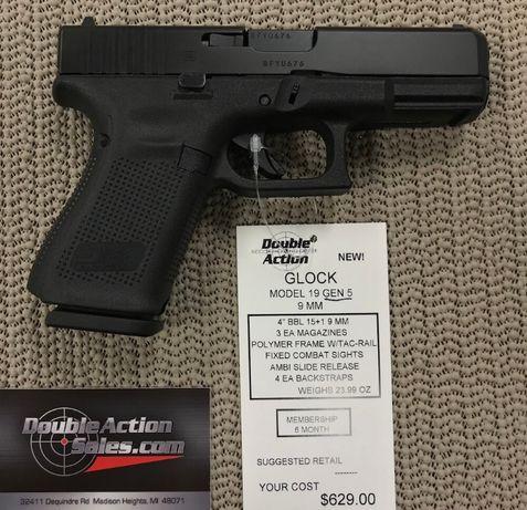Pistol Airsoft GLOCK!! Co2 6mm, 4 joules max, 4J pusca gazNOU