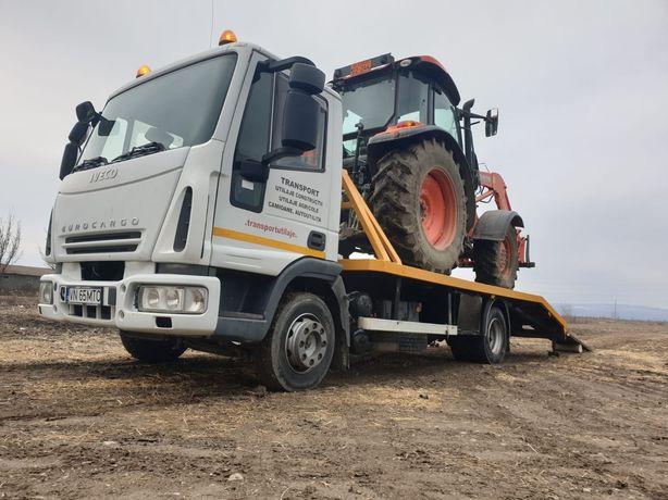 Transport utilaje agricole autoutilitare camioane etc
