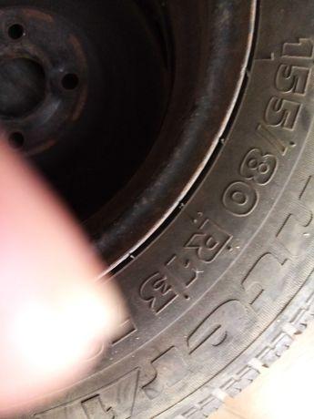 Продавам 4 броя зимни гуми  с джанти