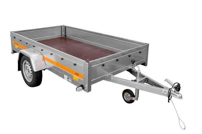 Remorca 750 kg Temared Eco 230x125x32 cm , RAR, Nr. Rosii Imediat