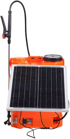 Pompa de Stropit cu Acumulator si Panou Solar ETS / V[l]: 16