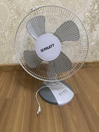 Вентелятор настольный