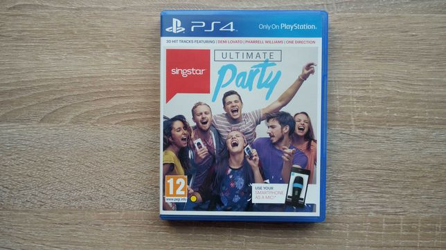 Vand SingStar Ultimate Party PS4 Play Station 4
