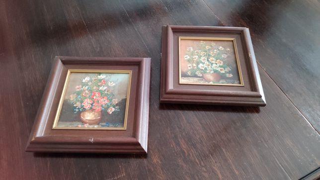 Set picturi - Vază cu flori