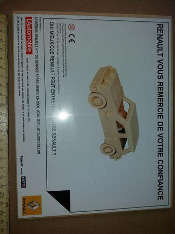 Jucarie lemn ( traforaj) , Renault