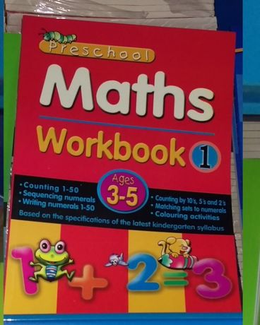 carte de engleza si aritmetica cu desene socoteli cuvinte set 15 buc