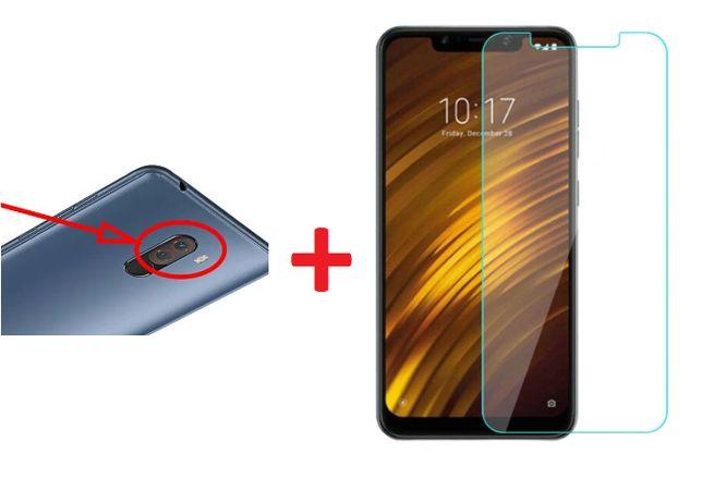 Geam inlocuire sticla camera foto Xiaomi Pocophone F1, Poco F1 + FOLIE