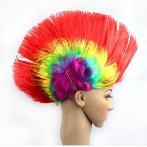 ирокез парик карнавальный головной убор