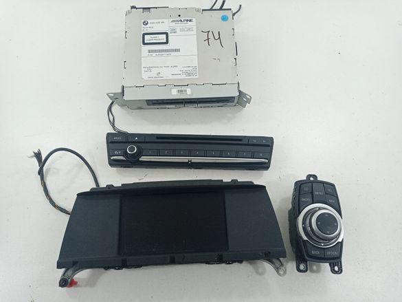 Х3 ф25 навигация циц джойстик модул двд монитор бмв bmw x3 f25