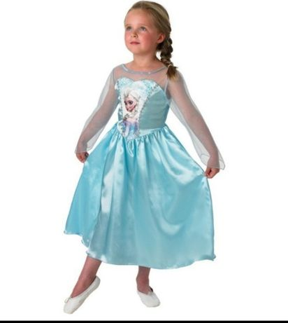 Rochie elsa disney frozen jucarii jocuri copii rochite fete fetite