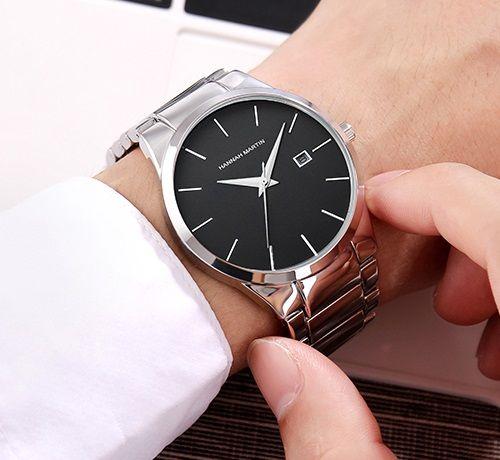 Подарок-кварцевые наручные часы Hannah Martin (ExS), в подарочной упак