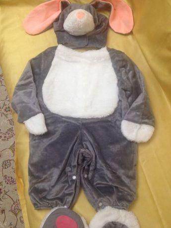 Новогодний костюм зайчика