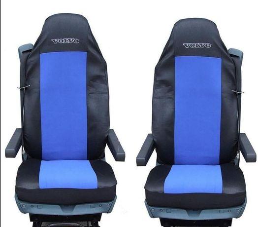 1+1 тапицерия (калъфи) за седалки за камион volvo fh