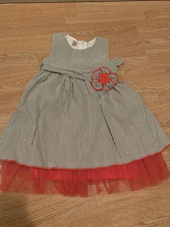 Нова детска рокличка 98см