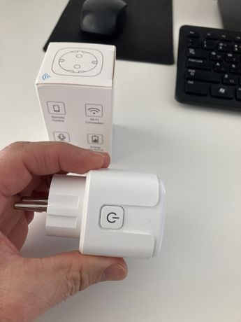 Контакт умен дом wifi измерва електричество, защита от свръхнапрежение