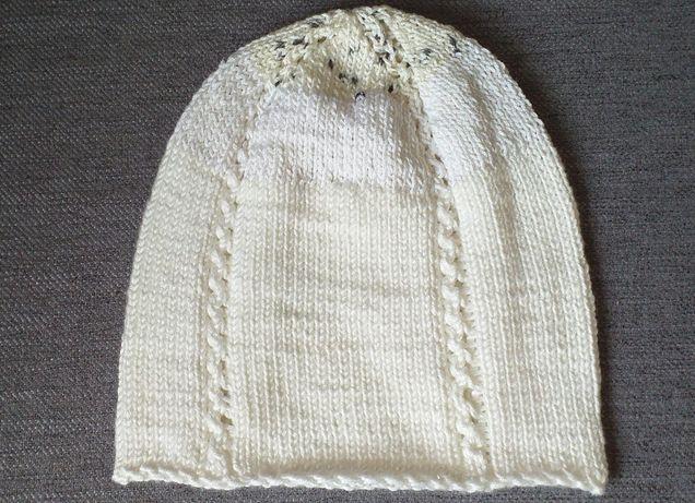Caciula tip beanie,tricotata manual, unisex