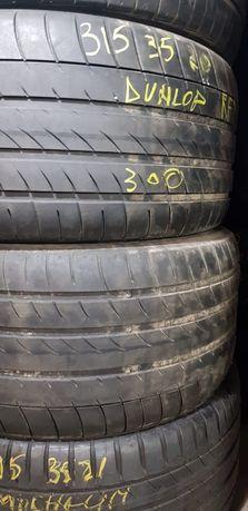 Anvelope vară 315 35 20 Dunlop și 275 40 20 Bridgestone
