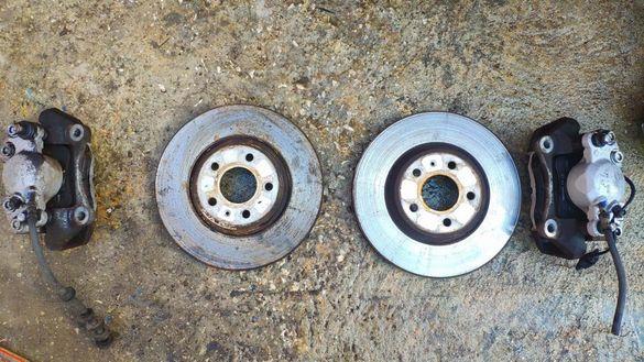 Спирачни апарати Супорти дискове моторче за ръчна Ауди Audi A5-A4 B8