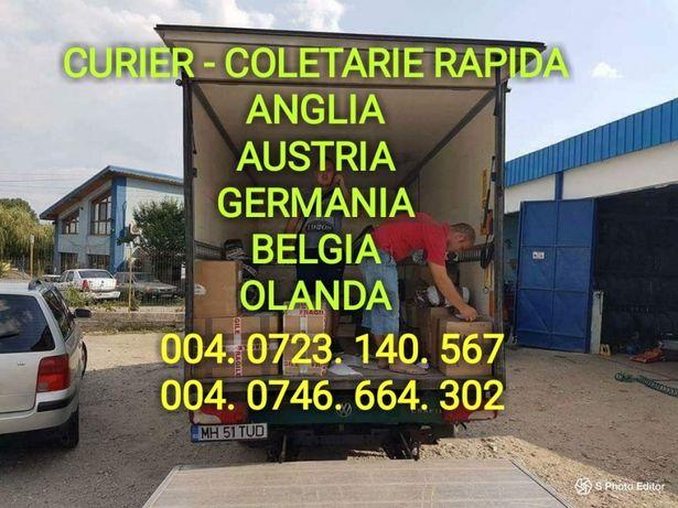 Curier - Coletarie rapida Anglia Austria Germania Belgia Olanda