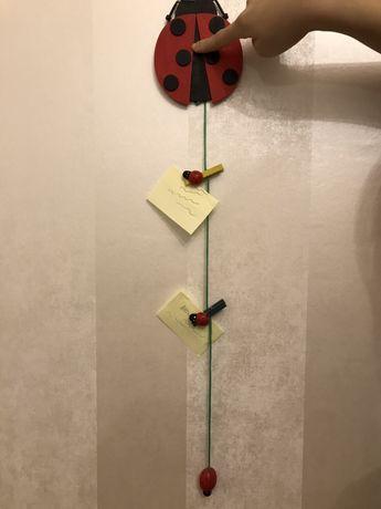Детская вешалка для записок , заметок, фото