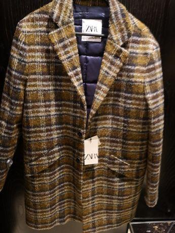 Palton Zara nou, premium, marimea L, Italia,