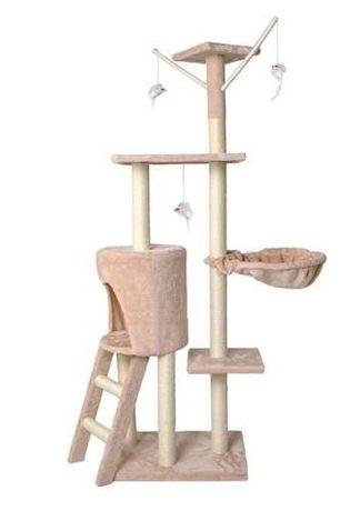 Ansamblu de joaca pentru pisici, 139x49 cm, 5 nivele