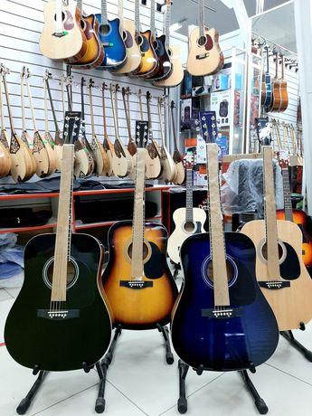 Акустическая гитара Agnetha AAG-E130BK . По самым низким ценам вАктобе