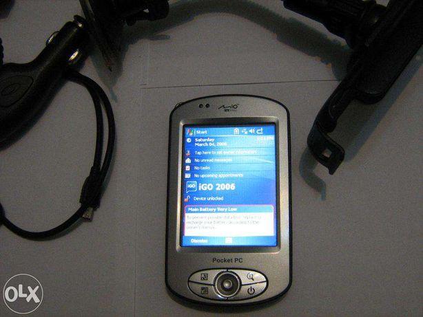 PDA Mio P350 cu GPS IGO