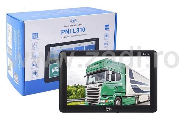 Gps nou - setari camion - 7inch/ 800mhz/ 256ram/ 8gb- soft camion