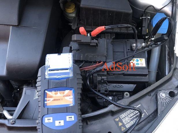 Verificare acumulator baterie alternator tester baterii acumulatori